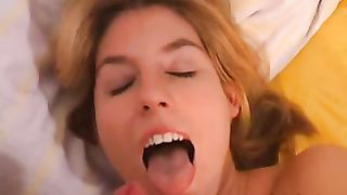 Lovely black cock sluts tugjob with cum in face hole this babe has a enchanting body