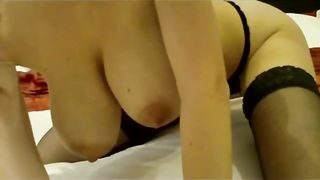 Playing with my sex toys masturbating bawdy cleft and gazoo on camera