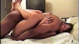 Interracial Cuckold Wife Powerful Bull Doing My Wife RAW
