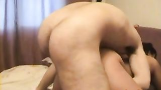 Homegrown porn slutty wife fucking her paramour who knows how to please her