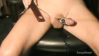 Cumming hard while using my multi-speed sex-toys on my rod