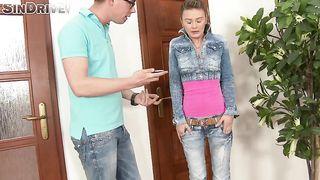 Euro-trash humiliation this slutty wife