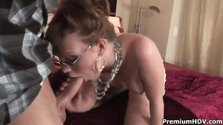 Ancient pussy pounded