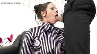 Blowjob from Boss,  Business-like BJ