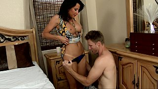Complete sex with mom adult XXX special along a mature and her step son