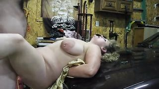 Homemade mom son adult XXX caught on cam during intense hardcore