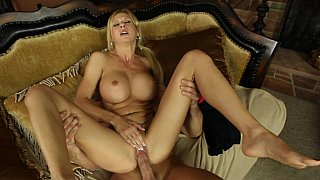 Soncumsinmom and enjoys the load gently dripping outside the fine ass