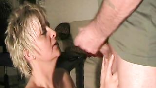 Mom swallows big time after sucking the dick and having a wild shag