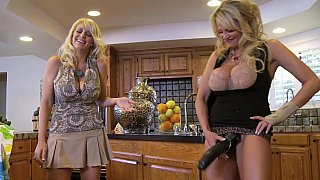Dirty moment housewife strap-on session