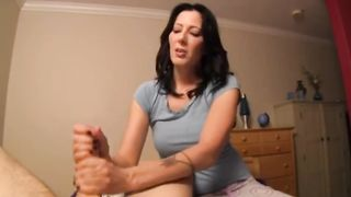 Mom caught you - Mom Jerks Off Horny Son