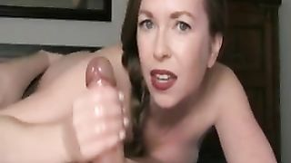 mom jacks off son - I'm the best at jerking cocks off