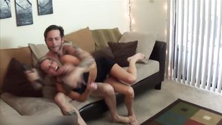 Forced mom porn in amazing scenes with young hunk fucking her hard