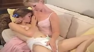 Fabulous mom daughter incest porn in insane homemade lezzie action