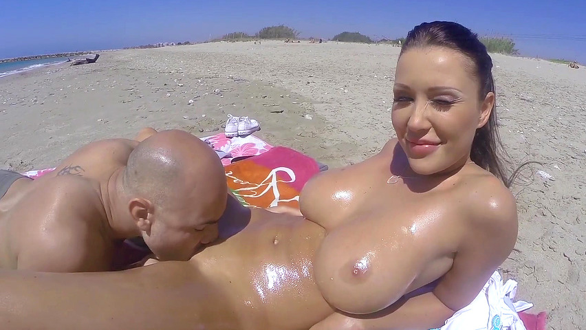 beach boobs sex porn