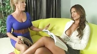 Mom and her daughter play some lesbian in mom daughter lesbian incest action and give a good blowjob