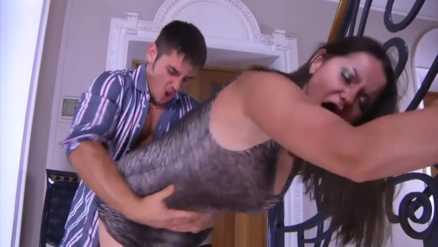 Mom forced anal