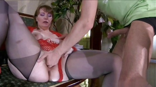 Perveted moms enjoying huge inches of dick in smashing home videos