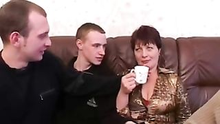 Forced mom gets dick to throat and swallow in amazing scenes