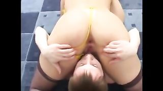 Mom shows pussy in exclusive nude scenes before having sex with her son