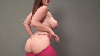 Virginia Tech schoolgirl wears her hokie shirt and does a sexy striptease