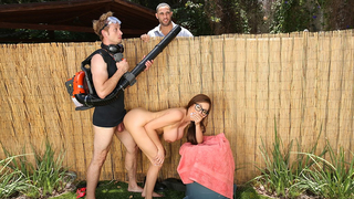 Gardening is fun when I get to fuck my employer's hot wife