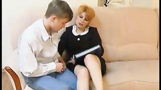 Horney moms in smashing scenes of pure sex with much younger hunks