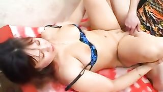 Red pagan mom goes really naughty on son's huge dong and balls