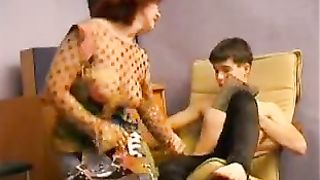 Mom real incest in a superb hot amateur sex tape with the step son