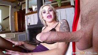 French beauty mom blows son she is a true cock and cum whore