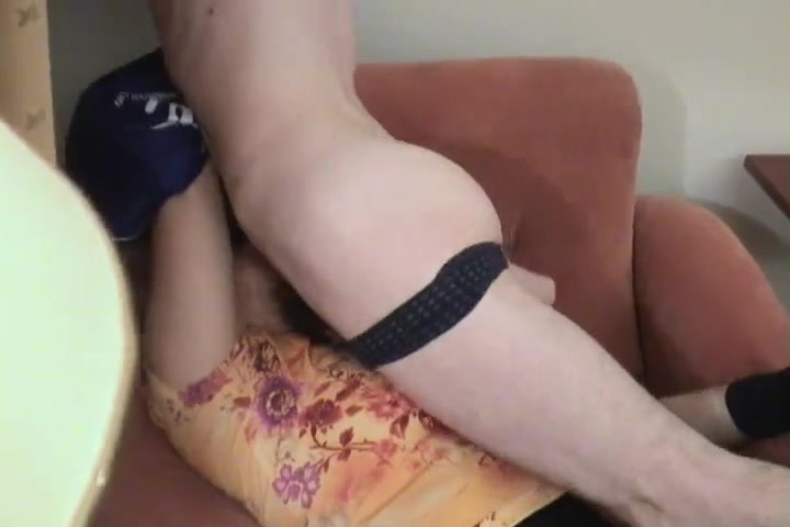 calf blowjob