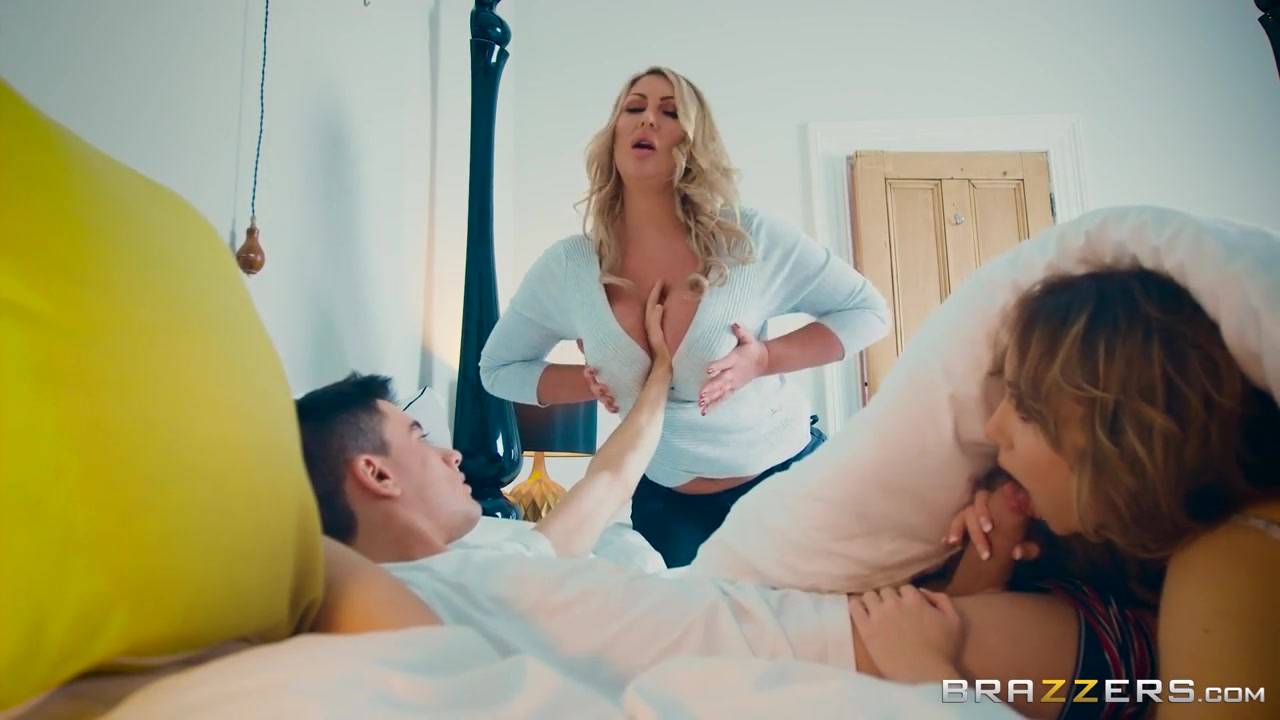 Blonde Big Tits Mature Mom