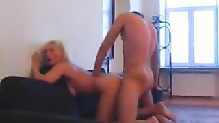 Mom gives son a blowjob to remember in serious adult home XXX