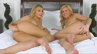 Twins lesbian incest - Blondes having more fun