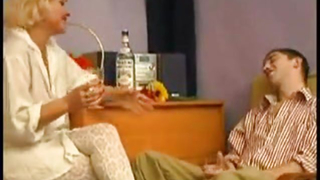 Drunk mom and son enjoys fucking in one of the hottest incest scenes