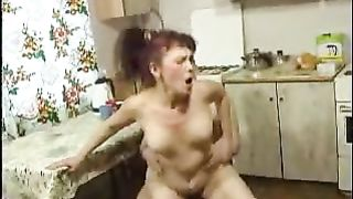 Watch me fucking my drunk mom while the slut enjoys every inch of it