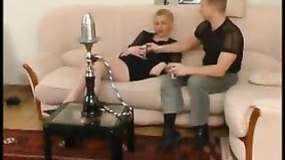 Hot drunk mom incest with young dude using her wasted mother to fuck