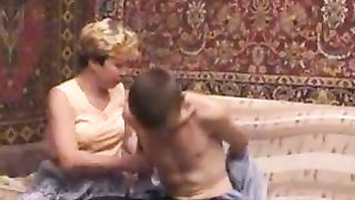 Drunk mom incest with young son using his totally wasted hot mother