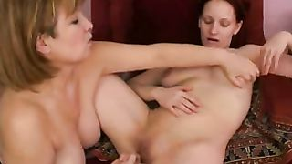 Mom daughter incest porn with licking, fingering and lots of orgasms