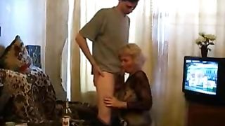 Crazy scenes on cam when I'm fucking my drunk mom right in her ass