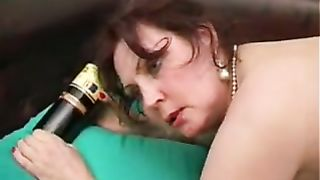 Watch me fucking my drunk mom and hear her screaming in anal XXX