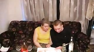 XXX drunk mom incest sex tape presenting mommy acting wild on cock