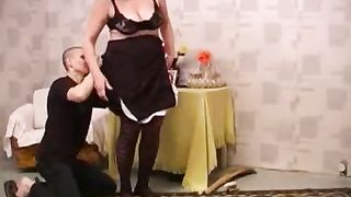 Mom son anal in super sexy homemade video taped by the horny hubby