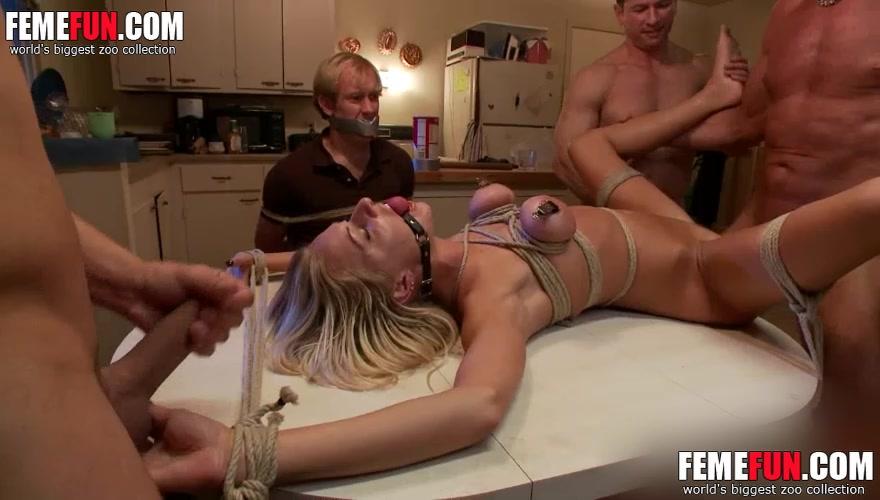 [ My Beloved Wife Raped ] Masked intruder rapes and strangle my hot milf  wife. - XXX FemeFun
