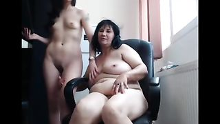 Hot mom daughter incest porn with family lesbian action full of orgasms