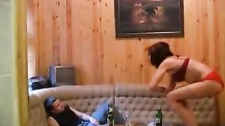 Mother gets naked to try her son's dick and enjoys the real mom xxx incest