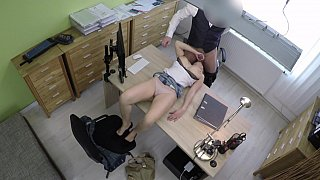 Security cam - Fuck-punished married slut
