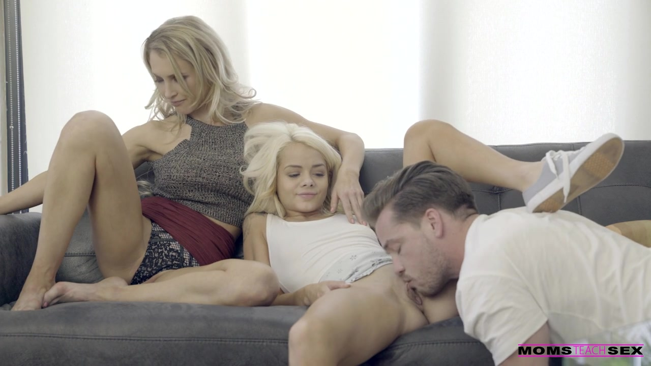 Step Mom Daughter Threesome