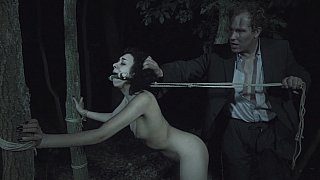 [ Rape Wife ] Brutal banging in the woods