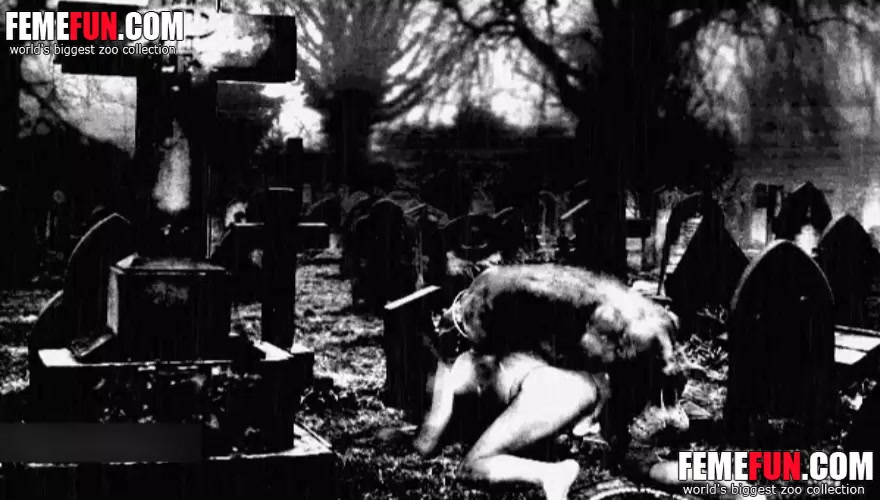 Cemetery Girls fucking in congratulate, magnificent idea