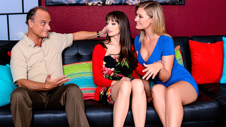 Severe mom brings stepdaughter at home for dirty XXX incest punishment